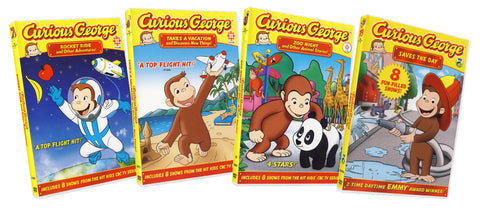 Curious George Collection # 5 (Boxset) DVD Movie