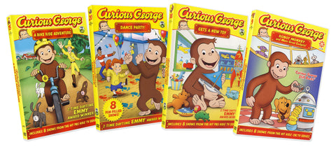 Curious George Collection # 6 (Boxset) DVD Movie