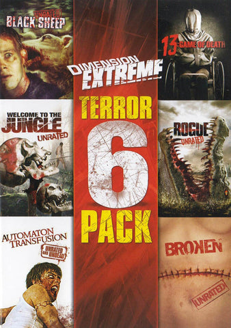 Dimension Extreme (Terror Pack) 6-Film Collection DVD Movie
