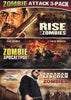 Zombie Attack 3-Pack: Rise Of The Zombies / Zombie Apocalypse / Abraham Lincoln vs. Zombies DVD Movie