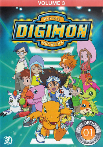 Digimon - Digital Monsters - Season 1, Volume 3 DVD Movie