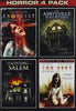 Horror 4 Pack (The Exorcist / The Amityville Haunting / A Haunting In Salem / 100 Feet) DVD Movie