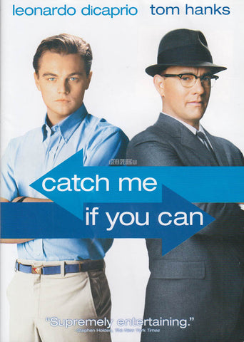 Catch Me If You Can DVD Movie