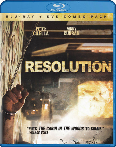 Resolution (Blu-ray + DVD) (Blu-ray) BLU-RAY Movie