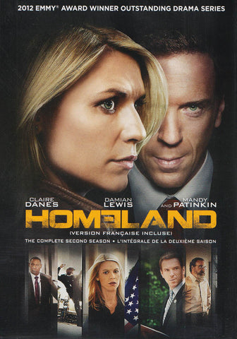 Homeland - The Complete Second Season (Bilingual) DVD Movie