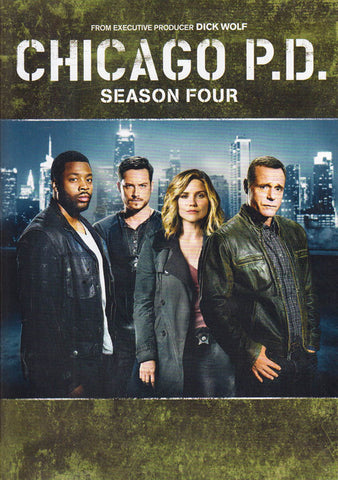 Chicago P.D. - Season Four (4) DVD Movie