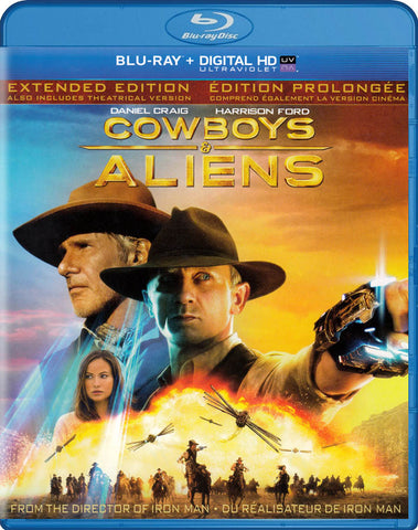 Cowboys & Aliens (Extended Edition) (Blu-ray) (Bilingual) BLU-RAY Movie