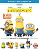Minions + 3 Mini-Movies (Blu-ray + DVD + Digital HD) (Blu-ray) BLU-RAY Movie