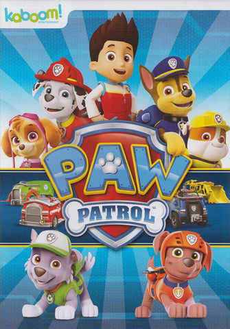 Paw Patrol DVD Movie