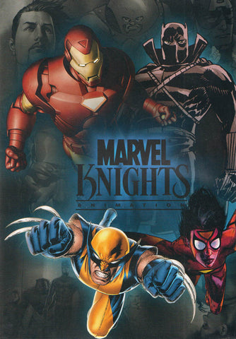 Marvel Knights - Animation - 4 Movie Feature DVD Movie