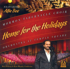 Mormon Tabernacle Choir - Home for the Holidays (Featuring Alfie Boe) (CD) DVD Movie