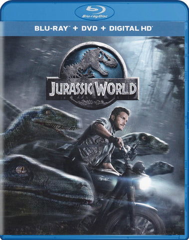 Jurassic World (Blu-ray + DVD + Digital Copy) (Blu-ray) BLU-RAY Movie