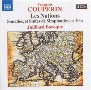 Francois Couperin - Les Nations (CD) DVD Movie