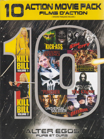 Alter Egos - 10 Action Movie Pack (Bilingual) (Boxset) DVD Movie