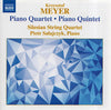 Krzysztof Meyer: Piano Quartet Op. 112 - Piano Quintet Op. 66 (CD) DVD Movie