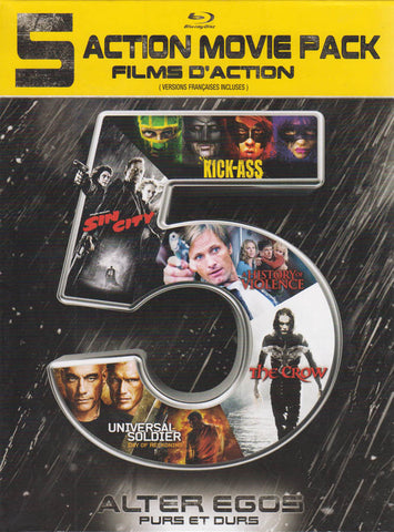 Alter Egos - 5 Action Movie Pack (Blu-ray) (Bilingual) BLU-RAY Movie
