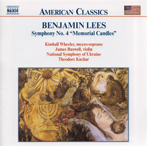 Benjamain Lees: Symphony No. 4 Memorial Candles (CD) Music CD