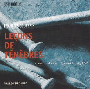 Francois Couperin - Lecons de Tenebres (CD) DVD Movie