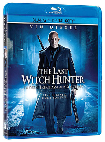 The Last Witch Hunter (Blu-ray + Digital Copy) (bilingual) (Blu-ray) BLU-RAY Movie