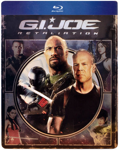 G.I. Joe - Retaliation (Steelcase) (Blu-ray) BLU-RAY Movie