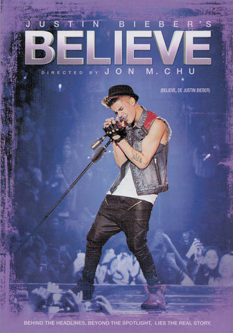 Justin Bieber - Believe (Bilingual) DVD Movie