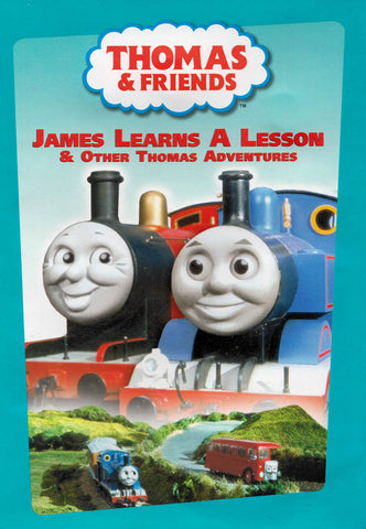 Thomas & Friends: James Learns a Lesson & Other Thomas Adventures (LG) DVD Movie