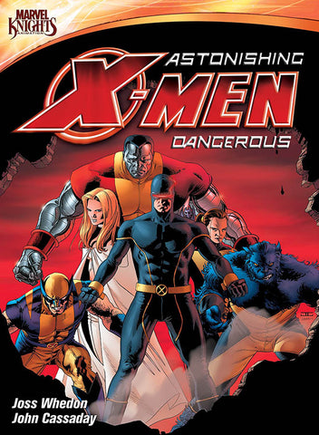 Astonishing X-Men Dangerous (Marvel Knights) DVD Movie