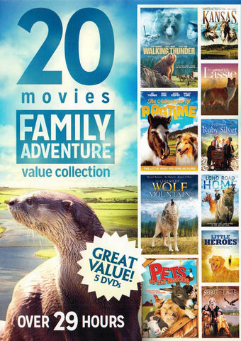 20 Movies Family Adventures Value Collection (5 DVD) (Boxset) DVD Movie