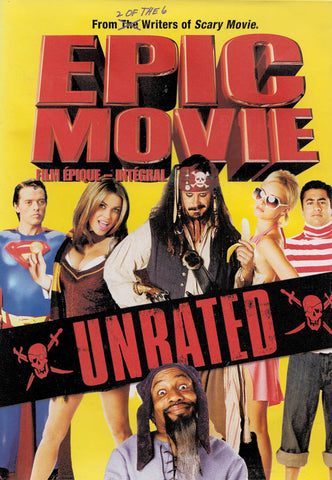 Epic Movie (Unrated) (Bilingual) DVD Movie