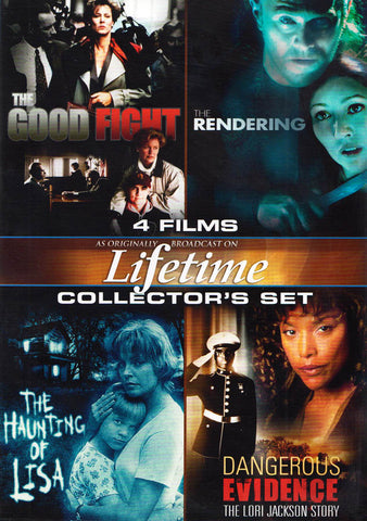 Lifetime: Movies Collector's Set (Good Fight / Rendering / Haunting Of Lisa / Dangerous Evidence) DVD Movie