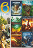 Fantasy Collection (Merlin../Journey../Midnight Chronicles/Beastmaster/DragonQuest/1000 Million BC) DVD Movie