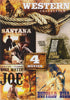 4 Movie Western Collection (Santana / Dig Your Grave / Holy Water Joe / Buffalo Bill) DVD Movie