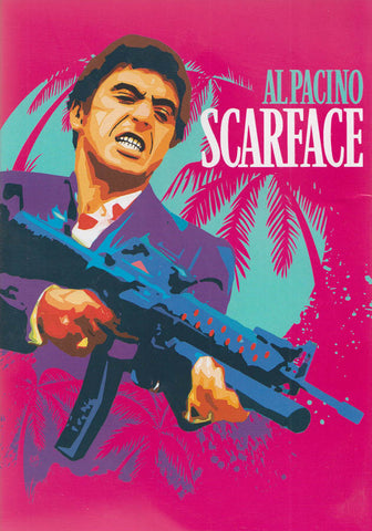 Scarface (Al Pacino) (Pink Cover) DVD Movie