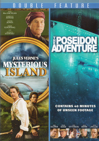 Mysterious Island / The Poseidon Adventure (Double Feature) DVD Movie