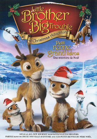 Little Brother Big Trouble - A Christmas Adventure (Bilingual) DVD Movie