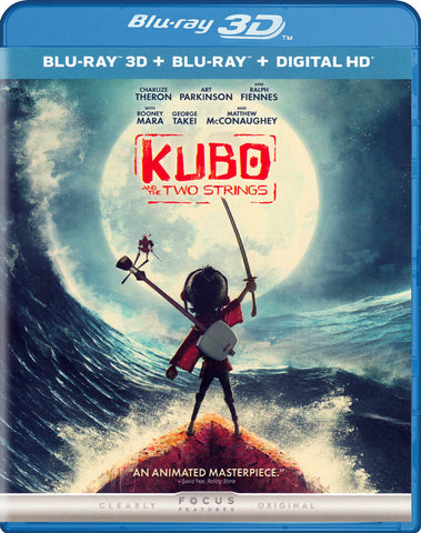 Kubo and the Two Strings (3D + Blu-ray + Digital HD) (Blu-ray) BLU-RAY Movie
