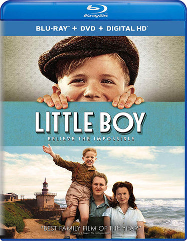 Little Boy (Blu-ray + DVD + Digital HD) (Blu-ray) BLU-RAY Movie