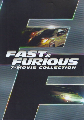 Fast & Furious 7-Movie Collection (Boxset) DVD Movie