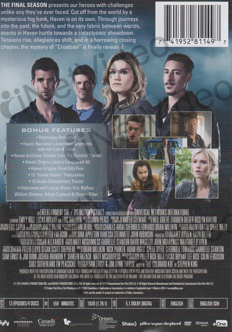 Haven - The Final Season DVD Movie