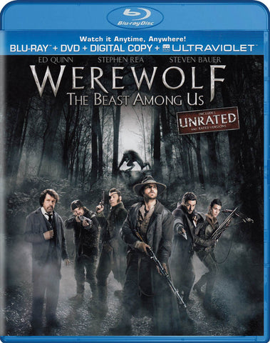 Werewolf - The Beast Among Us (Blu-ray + DVD + Digital Copy + Ultraviolet) (Blu-ray) BLU-RAY Movie