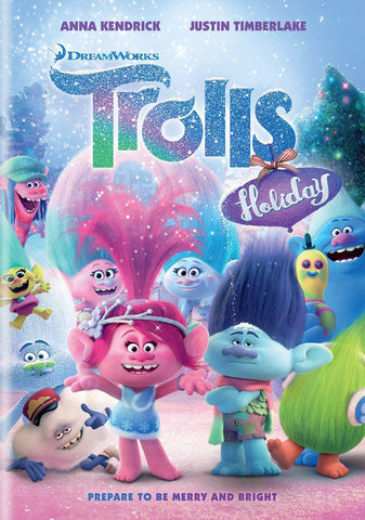 Trolls Holiday DVD Movie