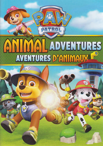 PAW Patrol - Animal Adventures (Bilingual) DVD Movie