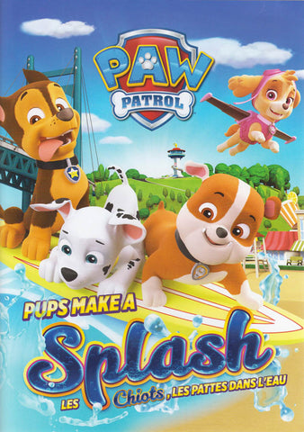 PAW Patrol - Pups Make a Splash (Bilingual) DVD Movie