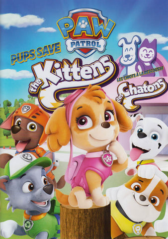 PAW Patrol - Pups Save The Kittens (Bilingual) on DVD Movie