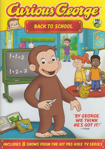 Curious George - Back To School DVD Movie
