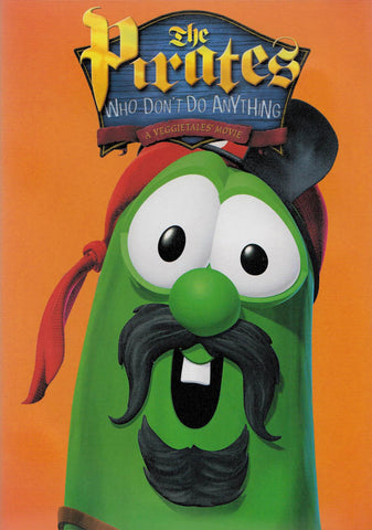 Pirates Who Don t Do Anything: A VeggieTales Movie (Widescreen) (Orange Cover) DVD Movie