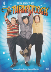 The Best Of The Three Stooges (4-DVDs) (Boxset)