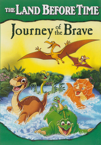 The Land Before Time - Journey of the Brave (Green Spine) DVD Movie
