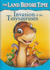 The Land Before Time - Invasion of the Tinysauruses DVD Movie