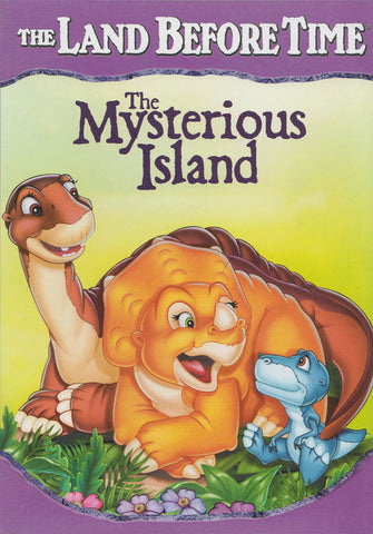The Land Before Time - The Mysterious Island (Purple Spine) DVD Movie